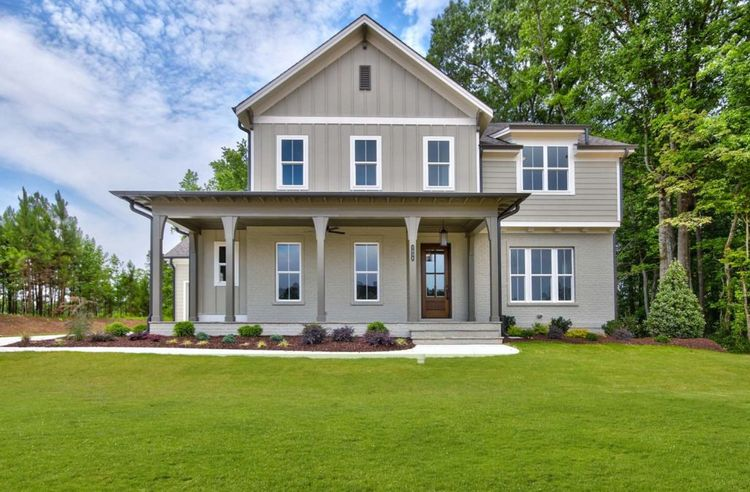 Exterior featured in the Alexandrian-Future Homes by Jim Thompson, Inc.