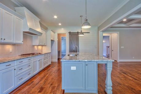 Kitchen-in-Alexandrian-Future Homes by Jim Thompson, Inc.-at-Stillwater-in-Apex