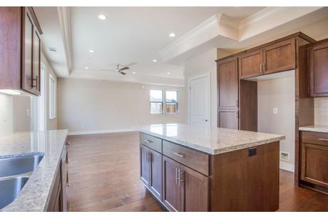 Kitchen-in-Plan 1-at-Rose Island Luxury New Homes-in-Morgan Hill