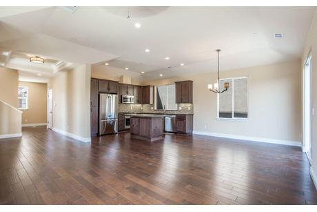 Kitchen-in-Plan 2-at-Rose Island Luxury New Homes-in-Morgan Hill