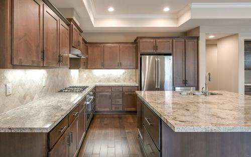 Kitchen-in-Plan 3-at-Rose Island Luxury New Homes-in-Morgan Hill