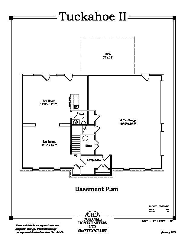 Tuckahoe II Basement
