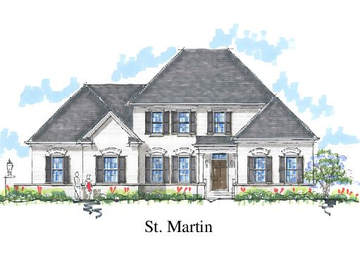 St. Martin Front Elevation