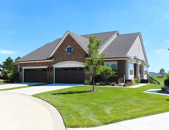 Hillcrest On The Park in Clinton Township, MI :: New Homes by