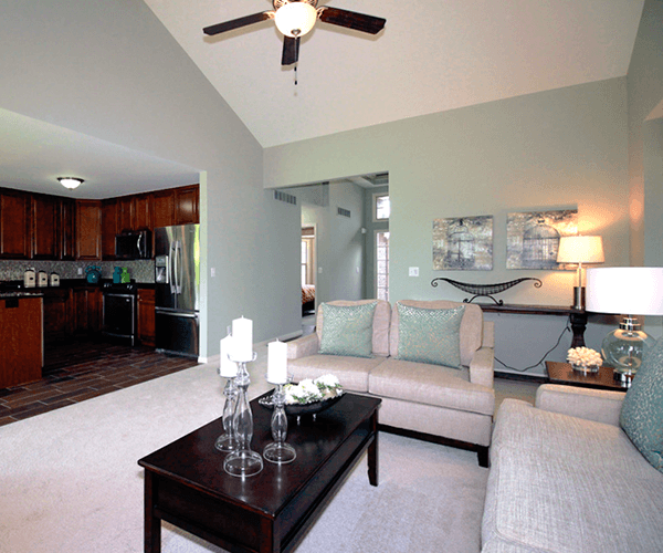 Living Area featured in The Bradbury By Columbia Homes in Detroit, MI