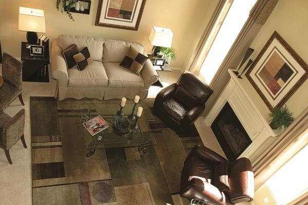 Living Area featured in The Glenbury By Columbia Homes in Detroit, MI