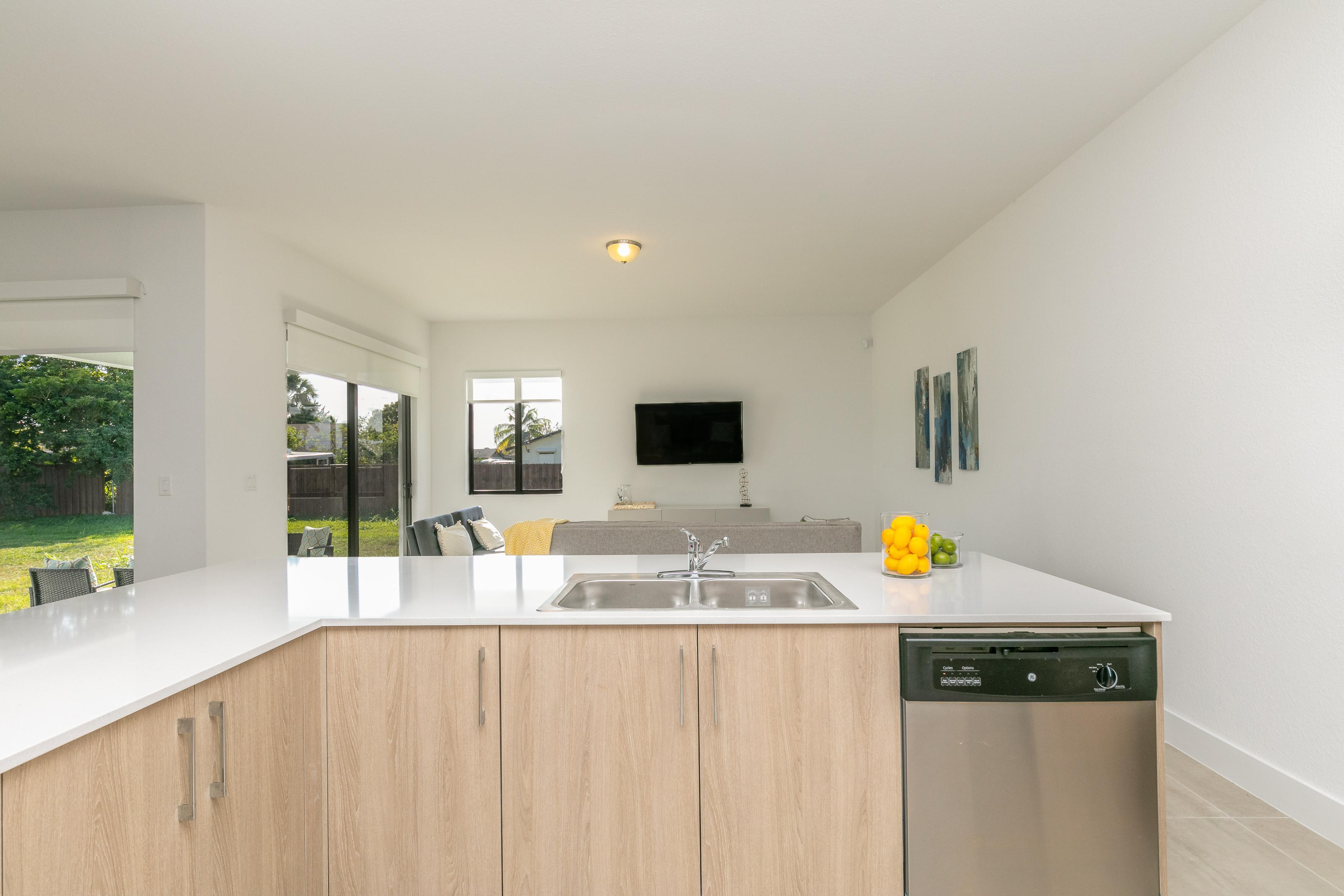 Kitchen featured in the Model A By Palmcorp Development Group in Miami-Dade County, FL