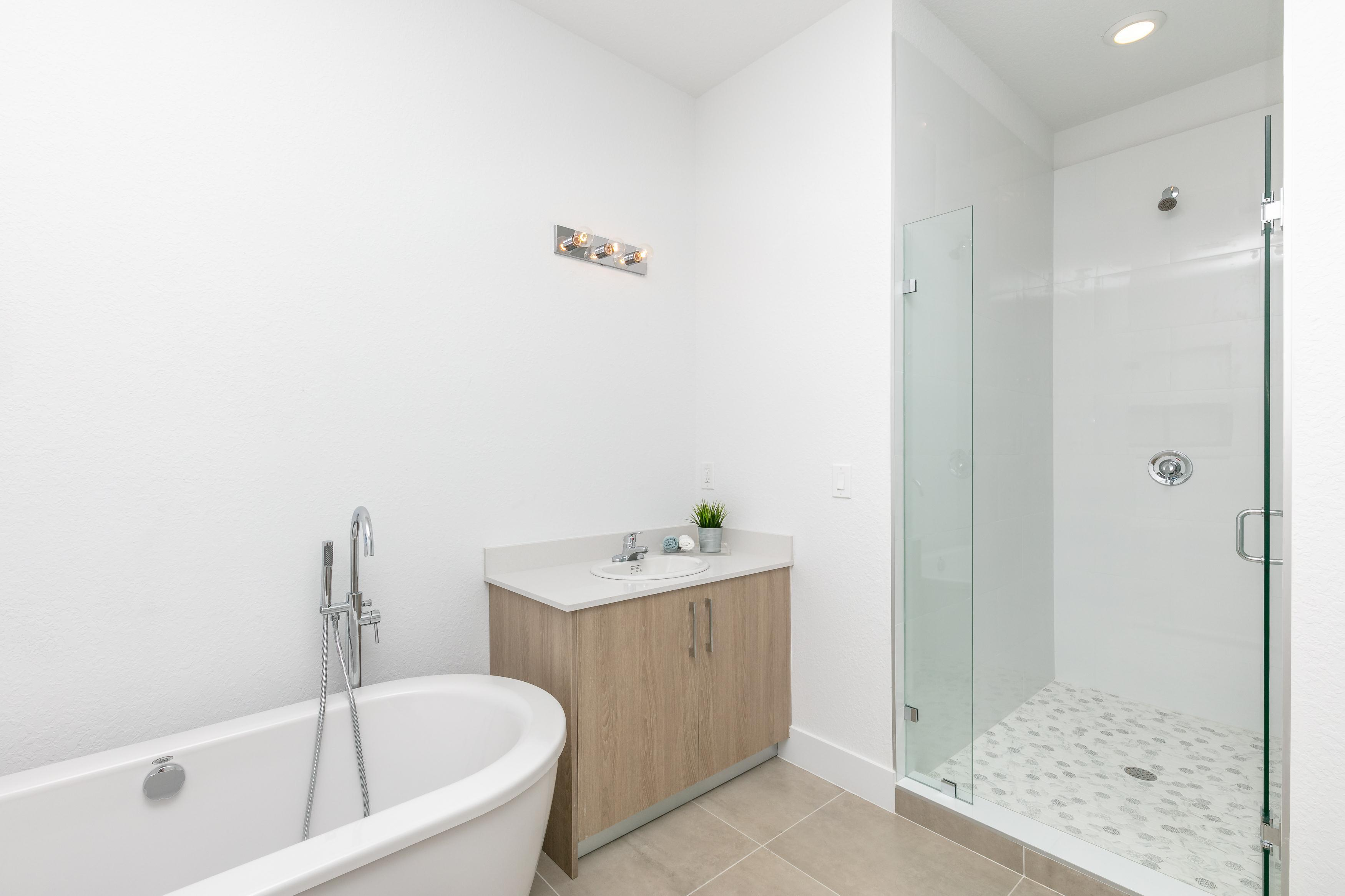 Bathroom featured in the Model A By Palmcorp Development Group in Miami-Dade County, FL