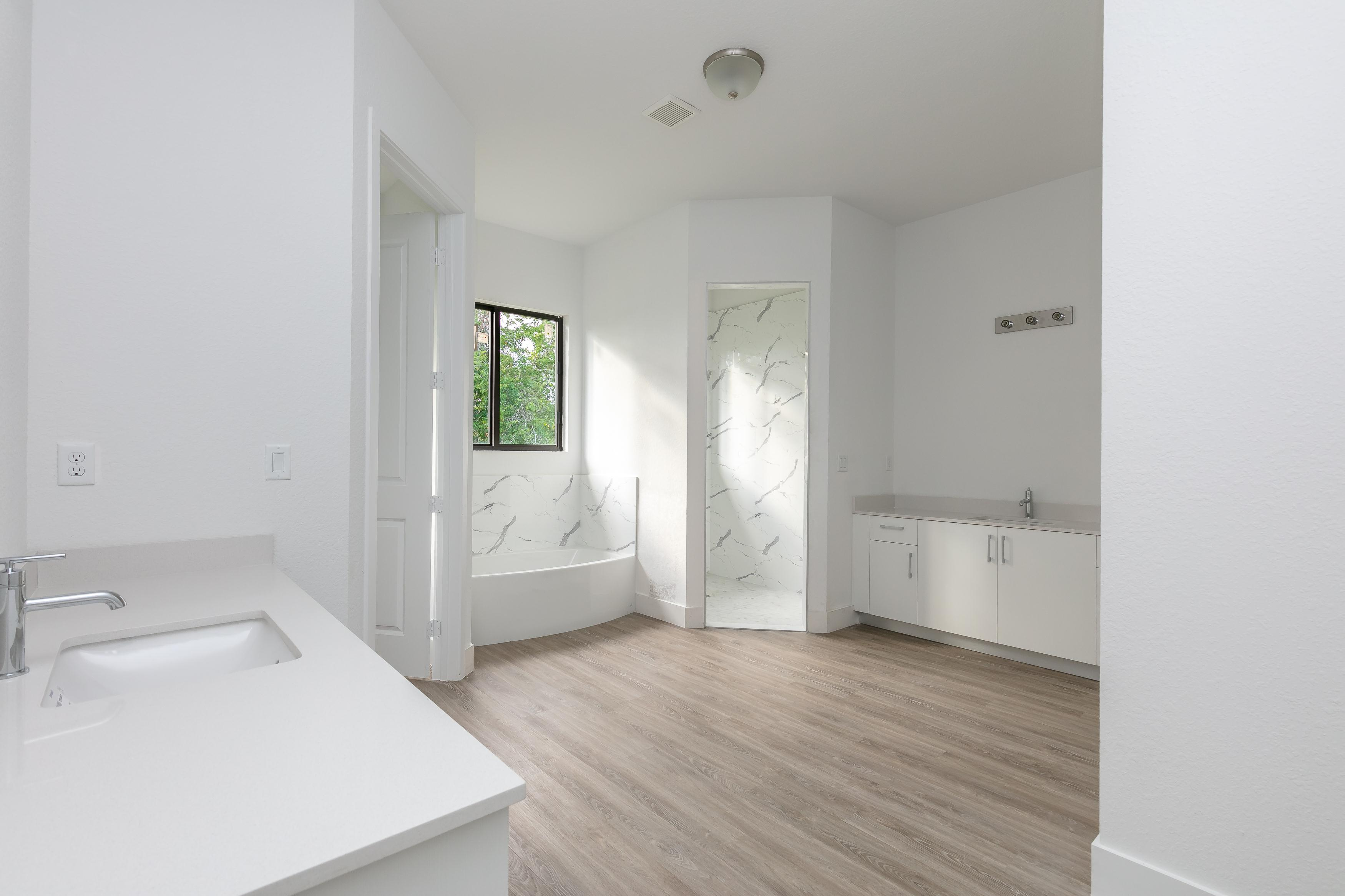 Bathroom featured in the Model B By Palmcorp Development Group in Miami-Dade County, FL