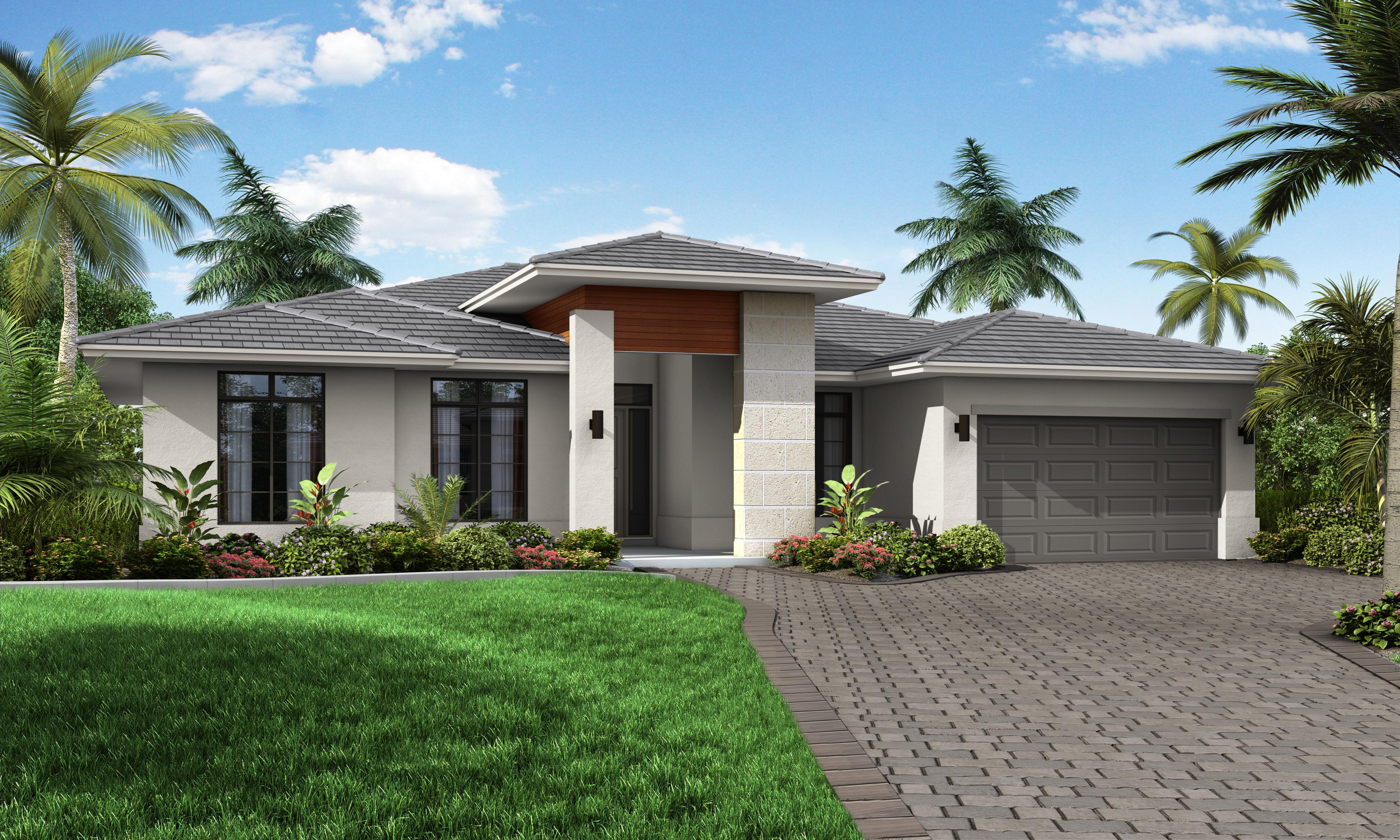 Exterior featured in the Model A By Palmcorp Development Group in Miami-Dade County, FL