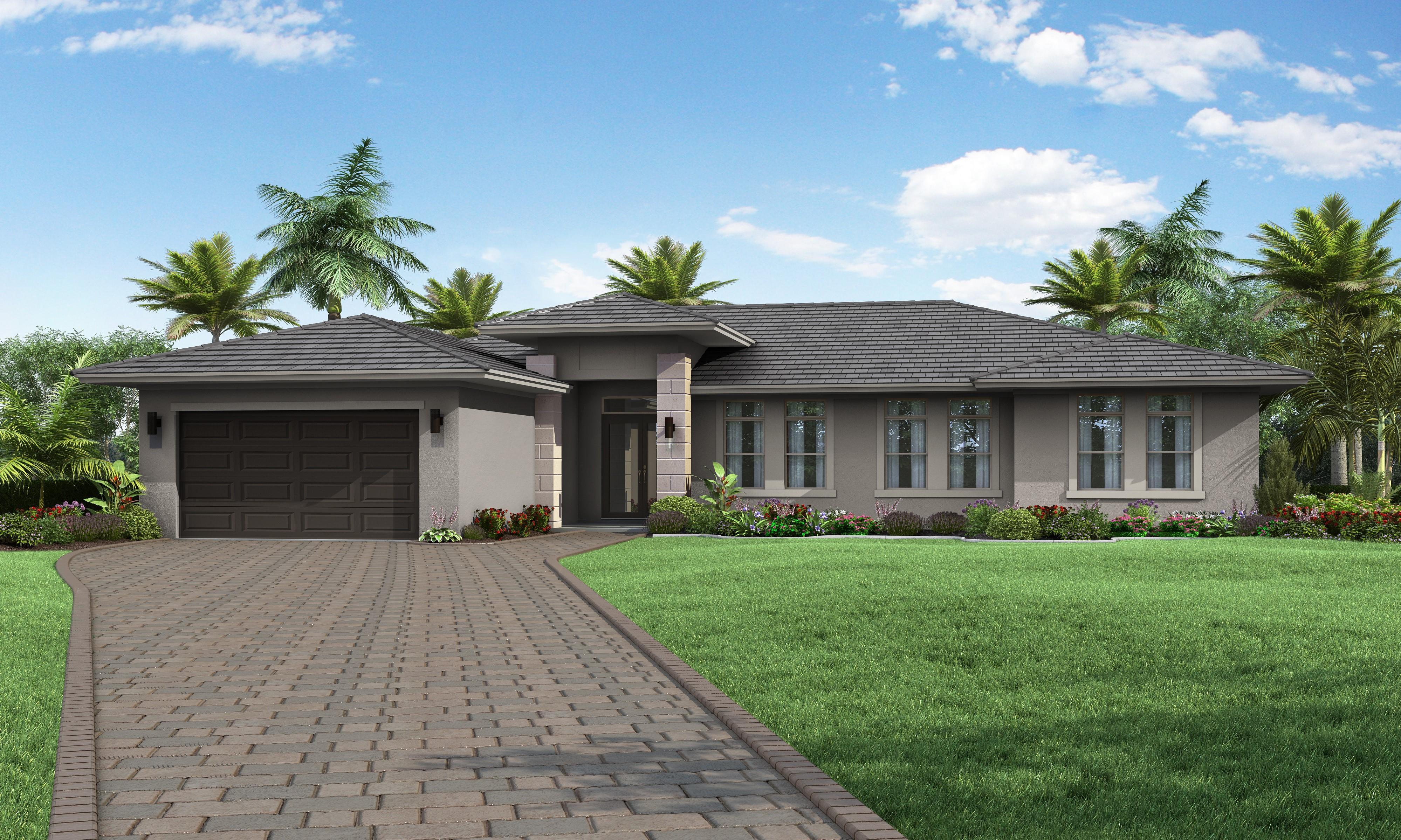 Exterior featured in the Model C By Palmcorp Development Group in Miami-Dade County, FL