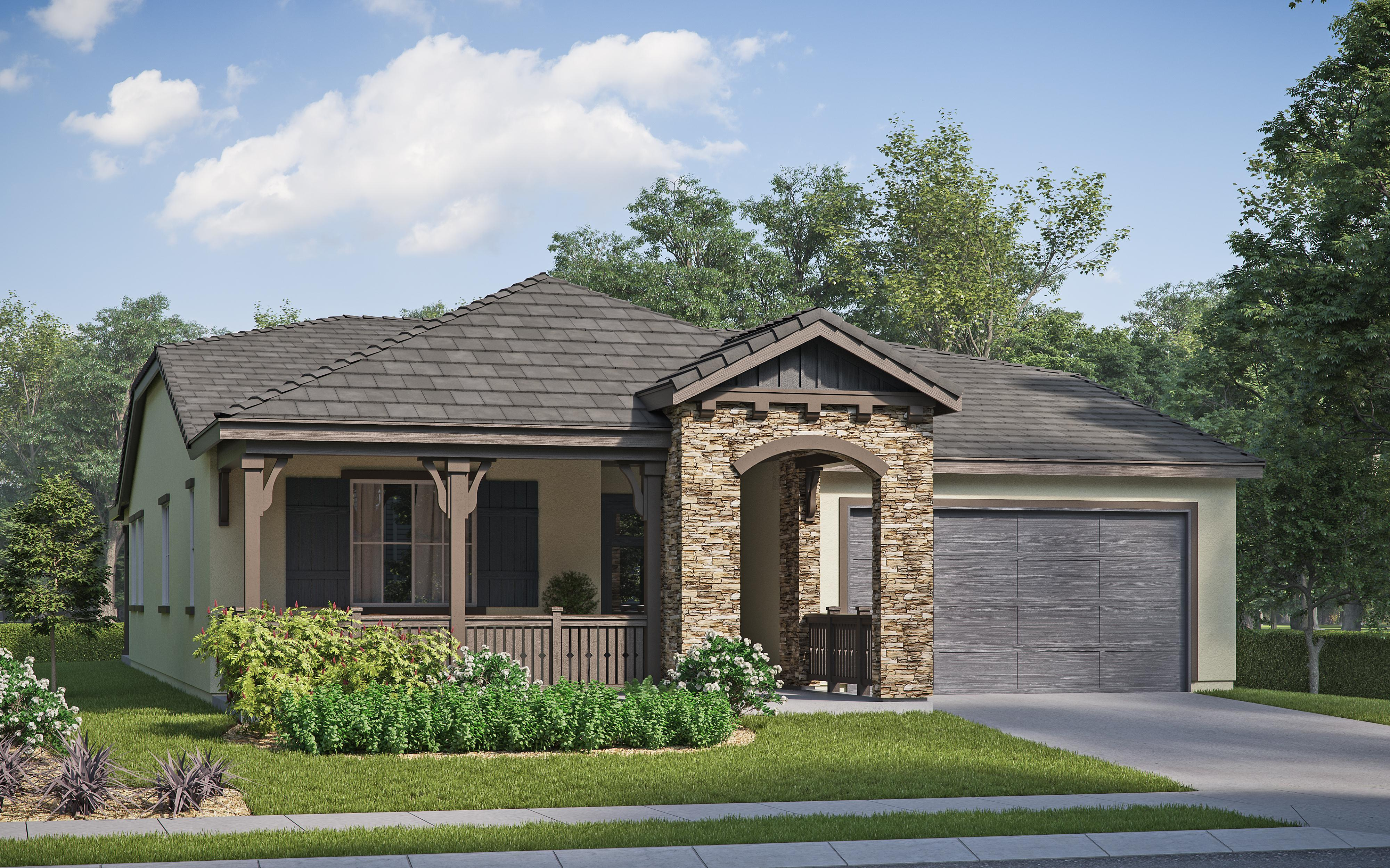 Exterior featured in the Iron Horse Residence 1 By Comstock Homes in Ventura, CA