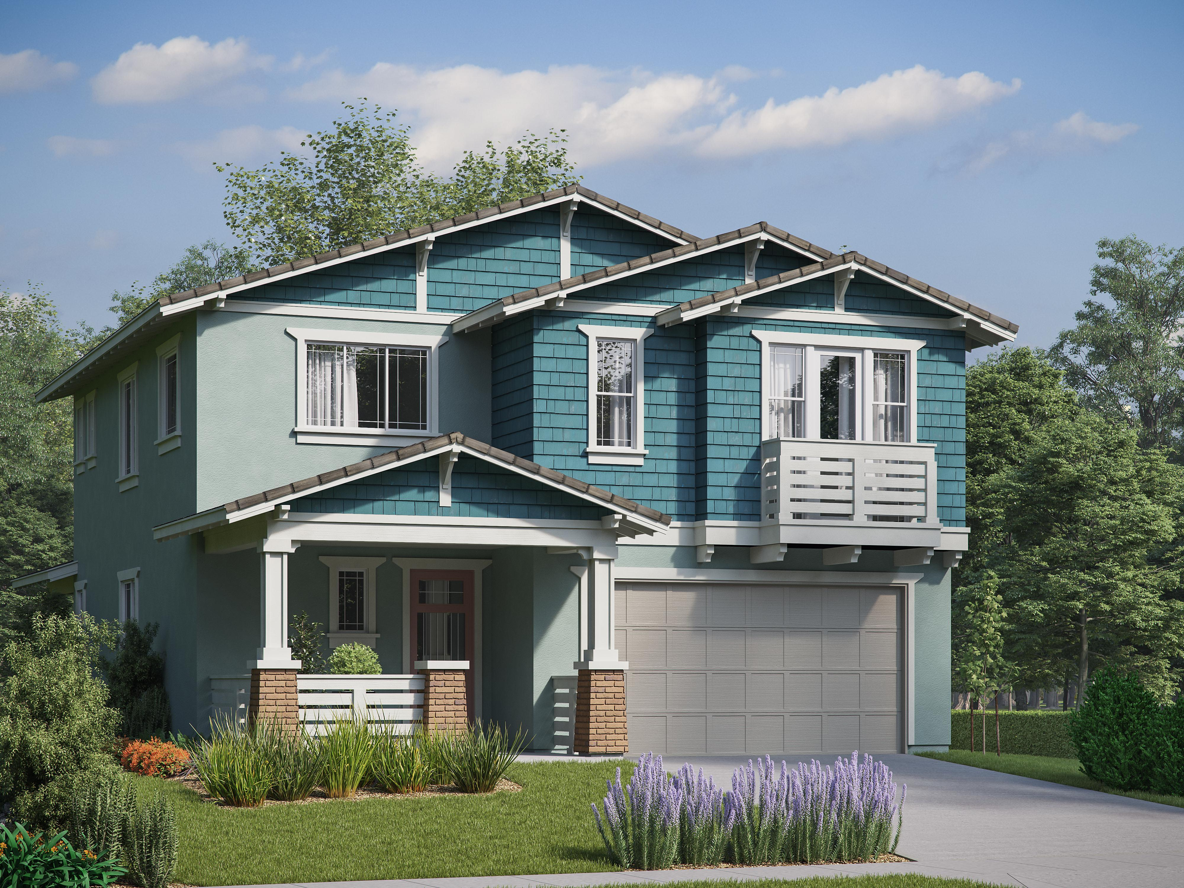 Exterior featured in the Iron Horse Residence 2 By Comstock Homes in Ventura, CA