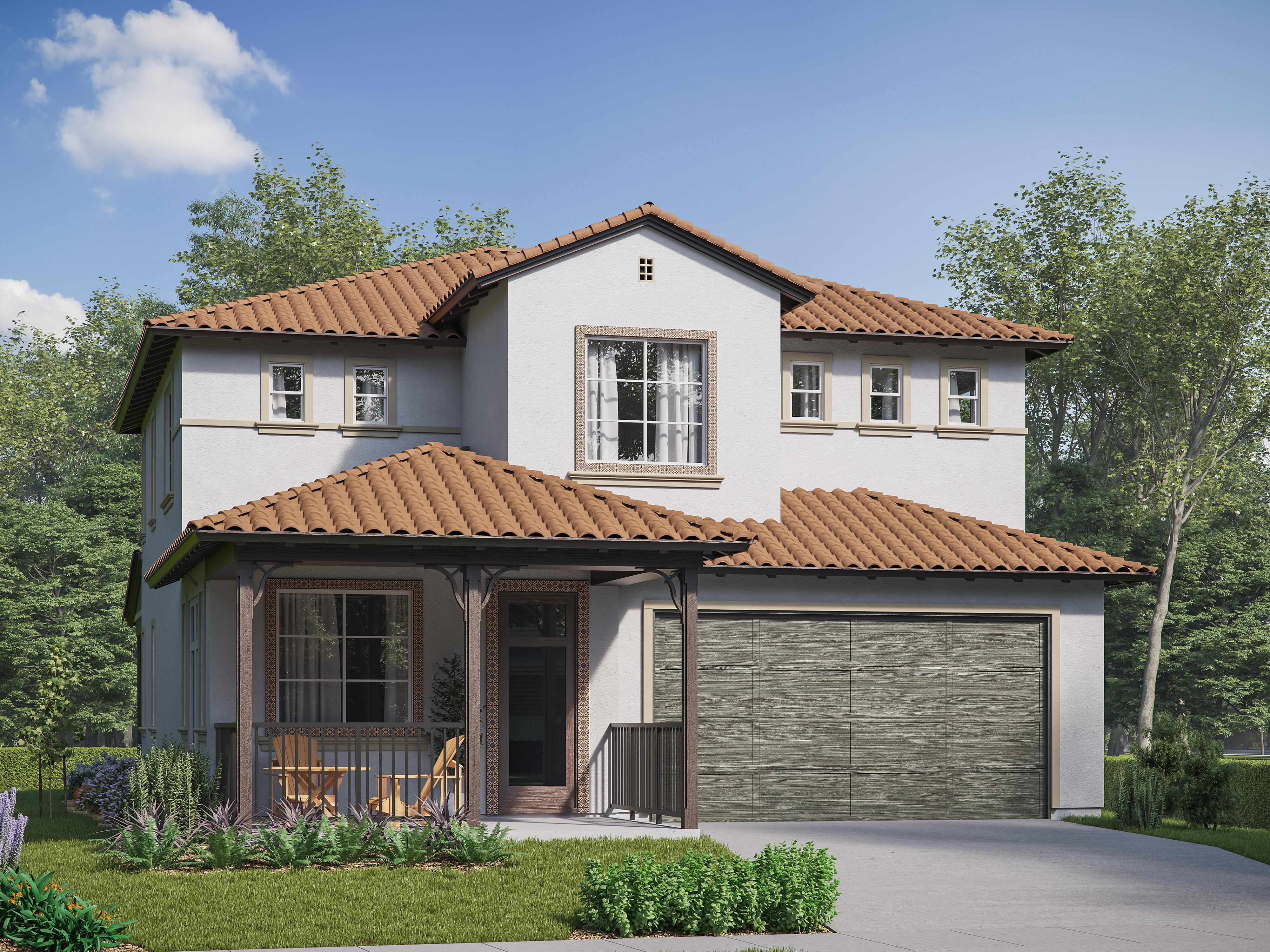 Exterior featured in the Iron Horse Residence 3 By Comstock Homes in Ventura, CA
