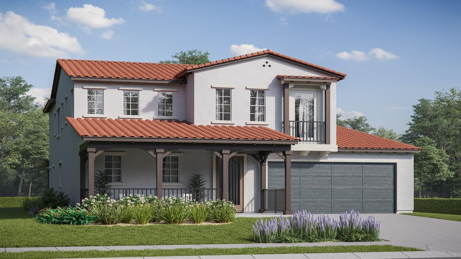 Exterior featured in the Iron Horse Residence 4 By Comstock Homes in Ventura, CA