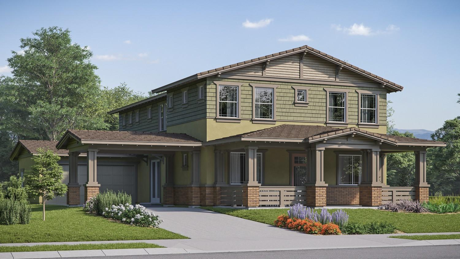 Exterior featured in the Iron Horse Residence 5 By Comstock Homes in Ventura, CA