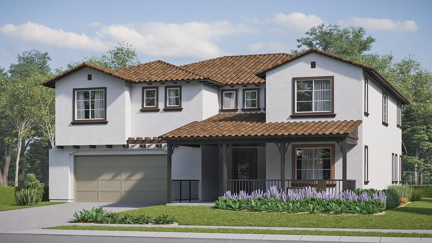Exterior featured in the Iron Horse Residence 6 By Comstock Homes in Ventura, CA