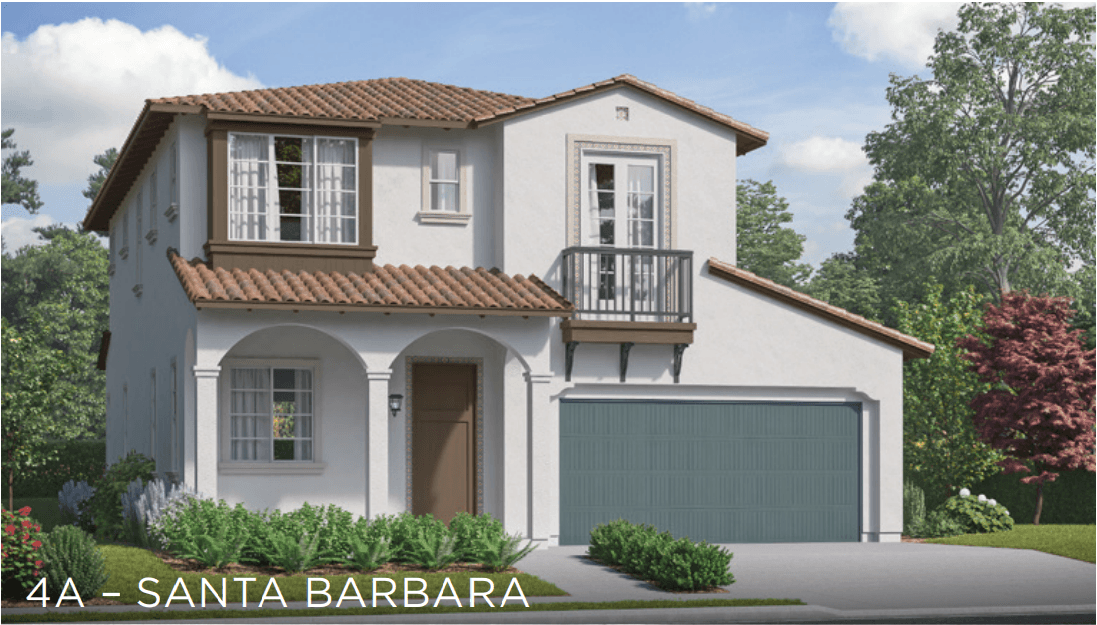 Exterior featured in the East Bridge Residence 4 By Comstock Homes in Ventura, CA