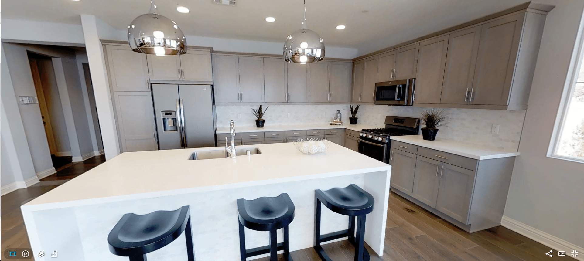 Kitchen featured in the Iron Horse Residence 1 By Comstock Homes in Ventura, CA