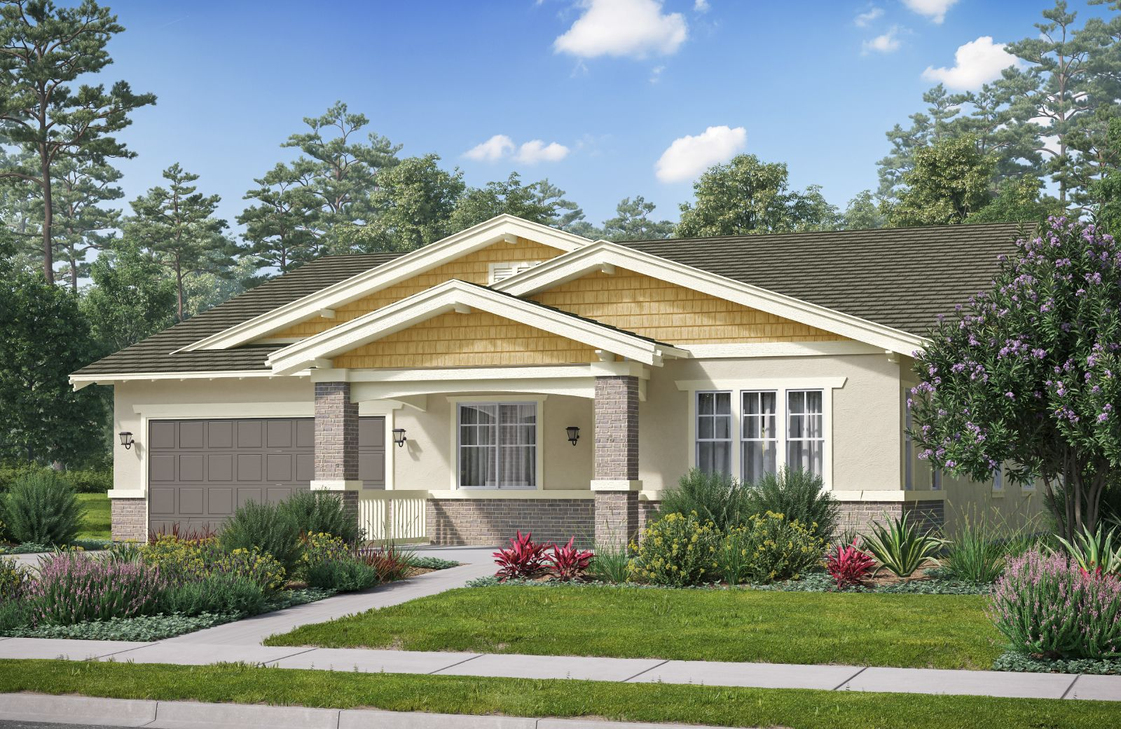 Exterior featured in The Orchards Residence 1 By Comstock Homes in Ventura, CA