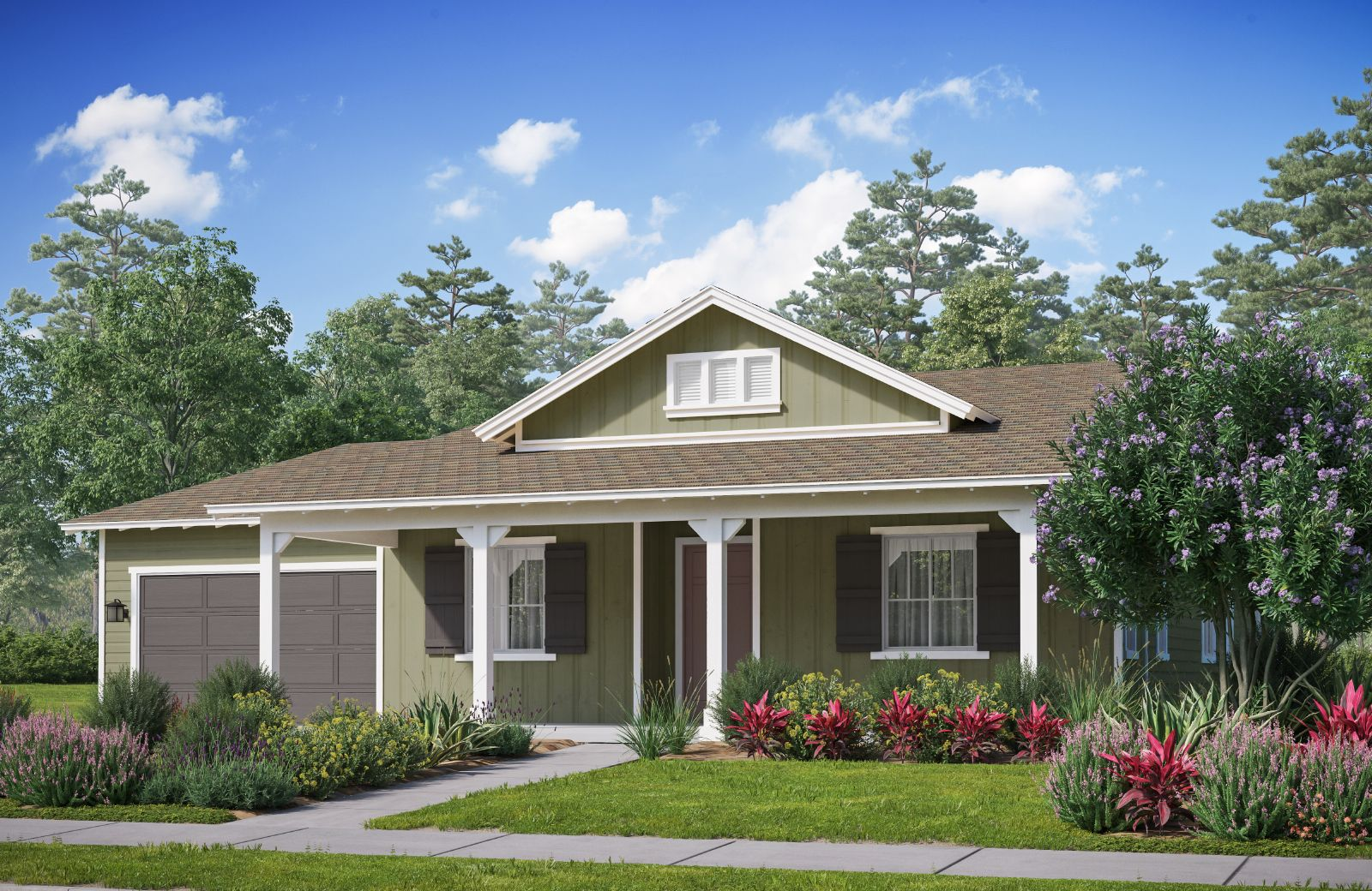 Exterior featured in The Orchards Residence 3 By Comstock Homes in Ventura, CA