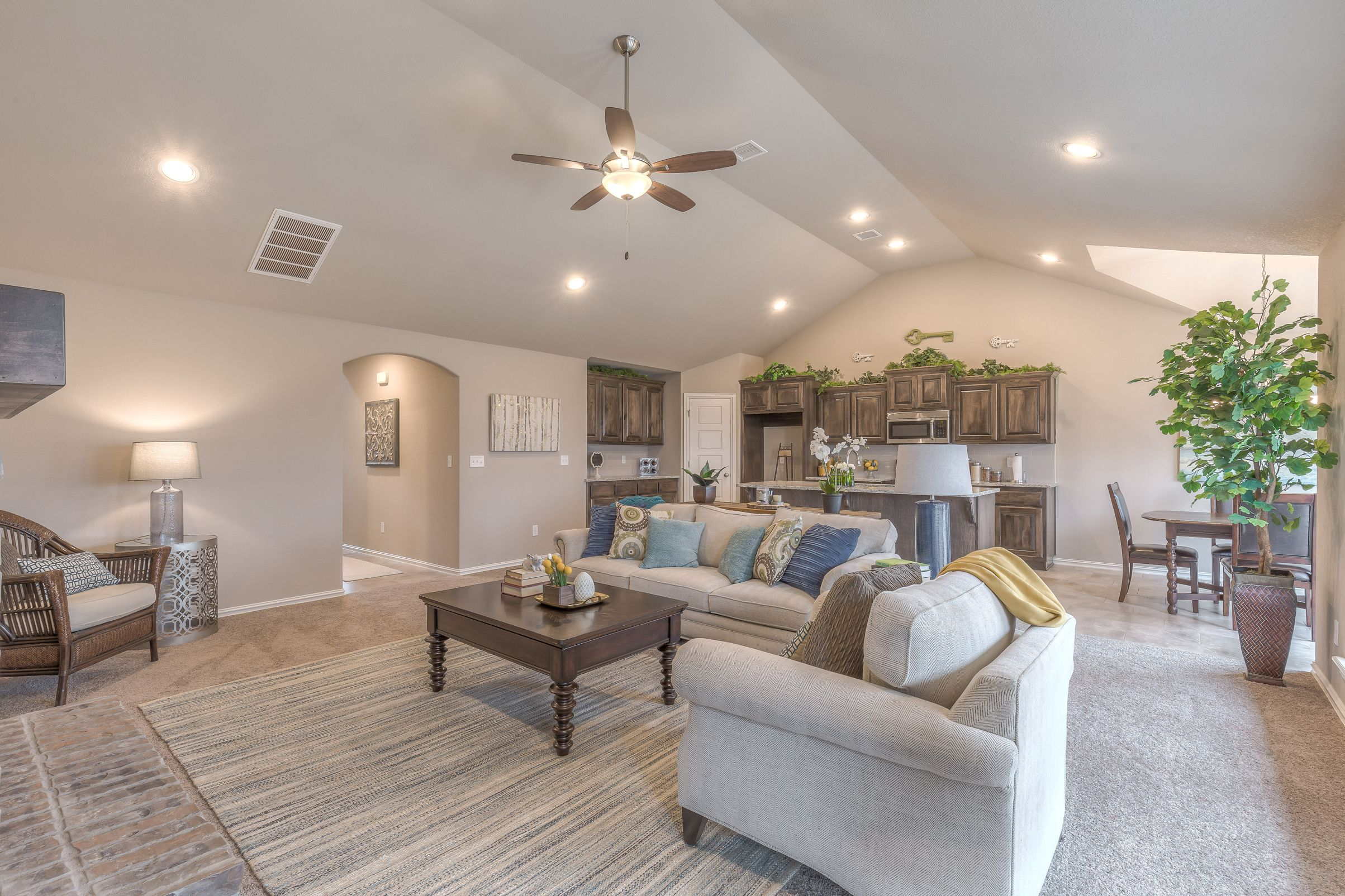 Living Area featured in the Hampton IV 3C By Concept Builders, Inc in Tulsa, OK