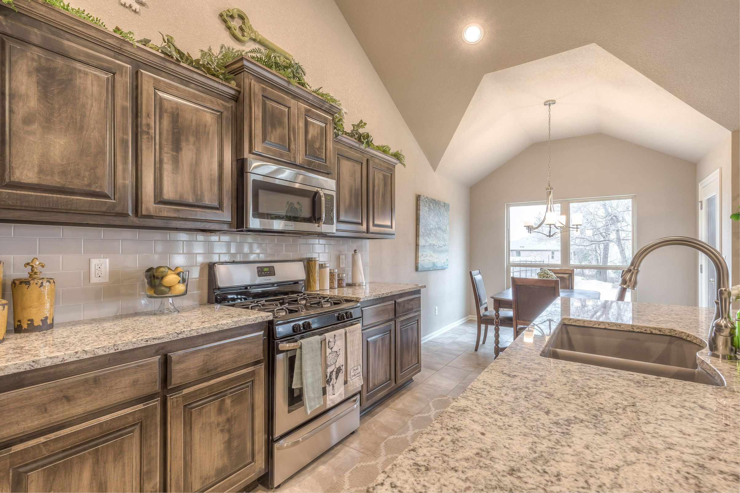 Kitchen featured in the Hampton IV 3C By Concept Builders, Inc in Tulsa, OK