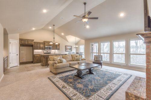 The Villas at Stone Creek Estates by Concept Builders, Inc in Tulsa Oklahoma