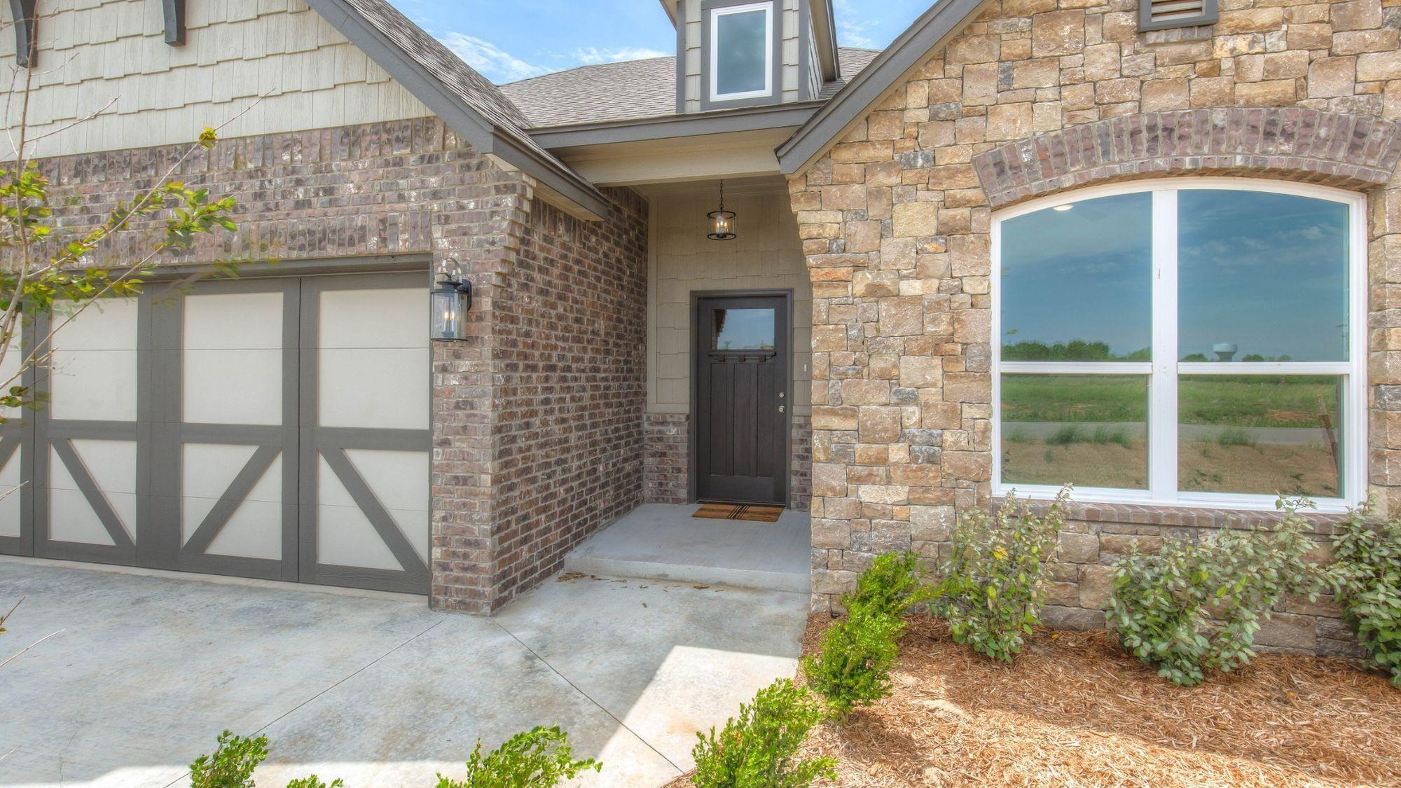 Exterior featured in the Creekshire IX By Concept Builders, Inc in Tulsa, OK