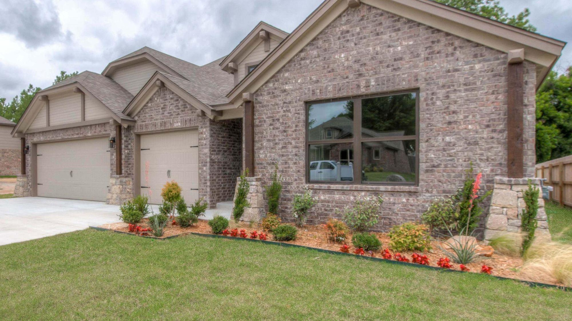 Exterior featured in the Dorsey By Concept Builders, Inc in Tulsa, OK