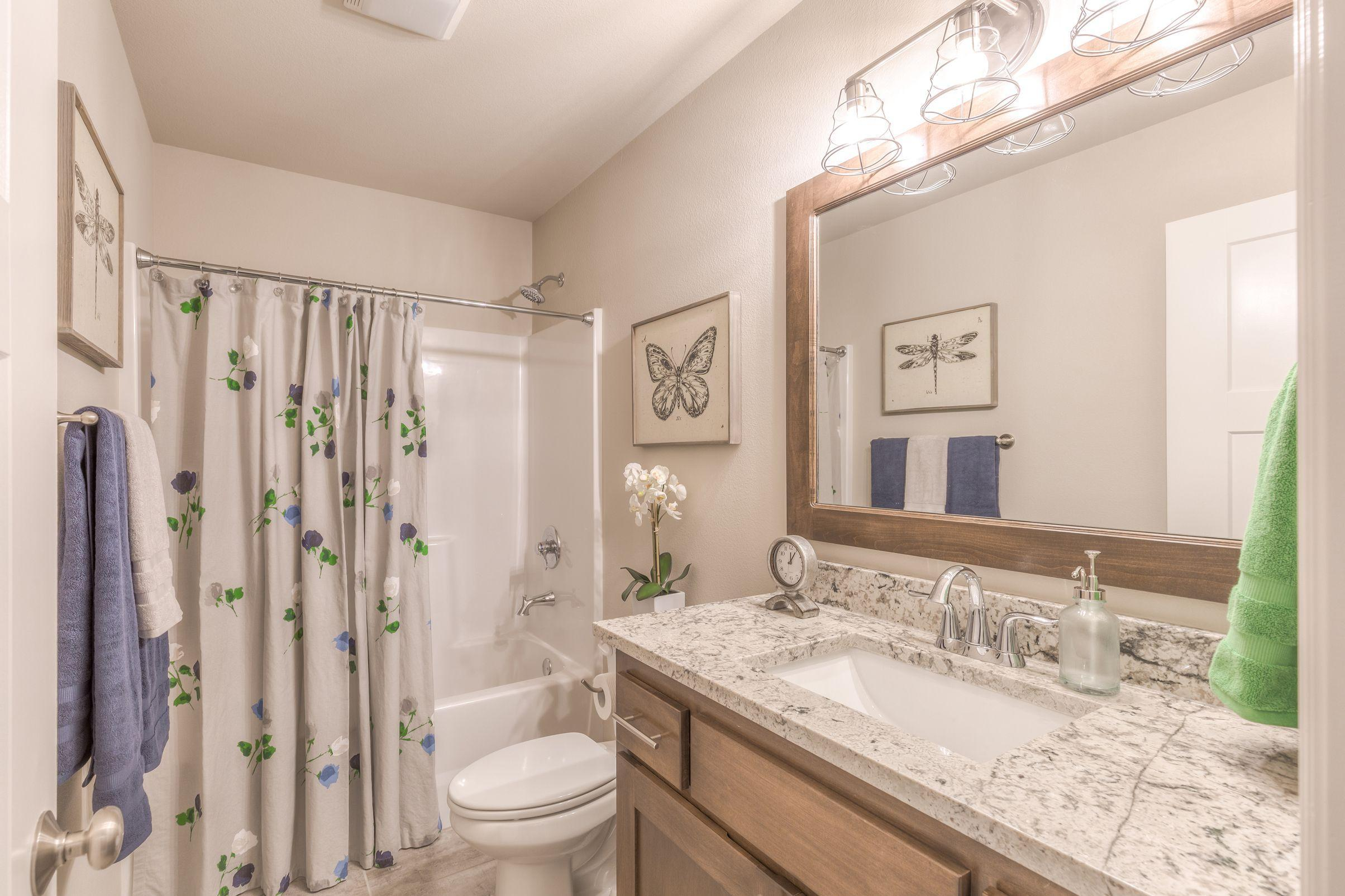 Bathroom featured in the Dorsey By Concept Builders, Inc in Tulsa, OK
