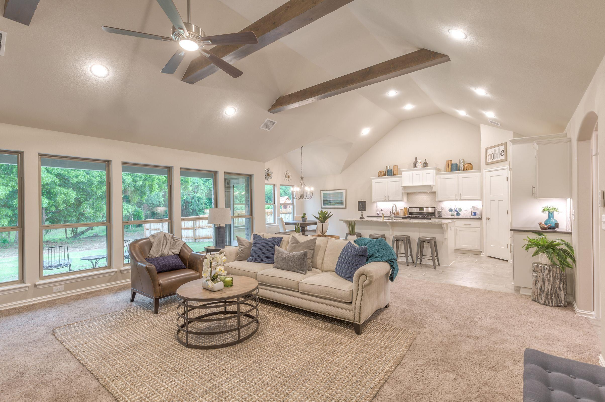 Living Area featured in the Dorsey By Concept Builders, Inc in Tulsa, OK