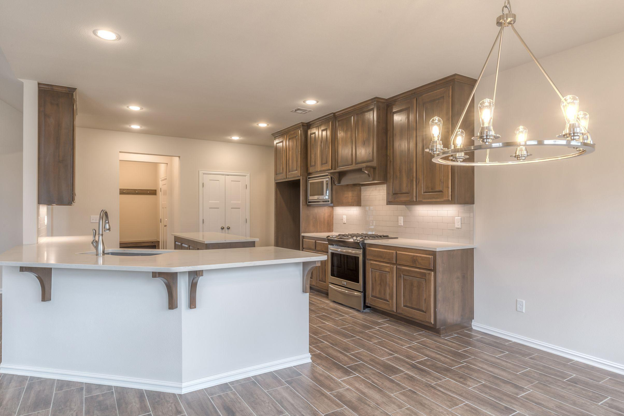 Kitchen featured in the Breckenridge II By Concept Builders, Inc in Tulsa, OK
