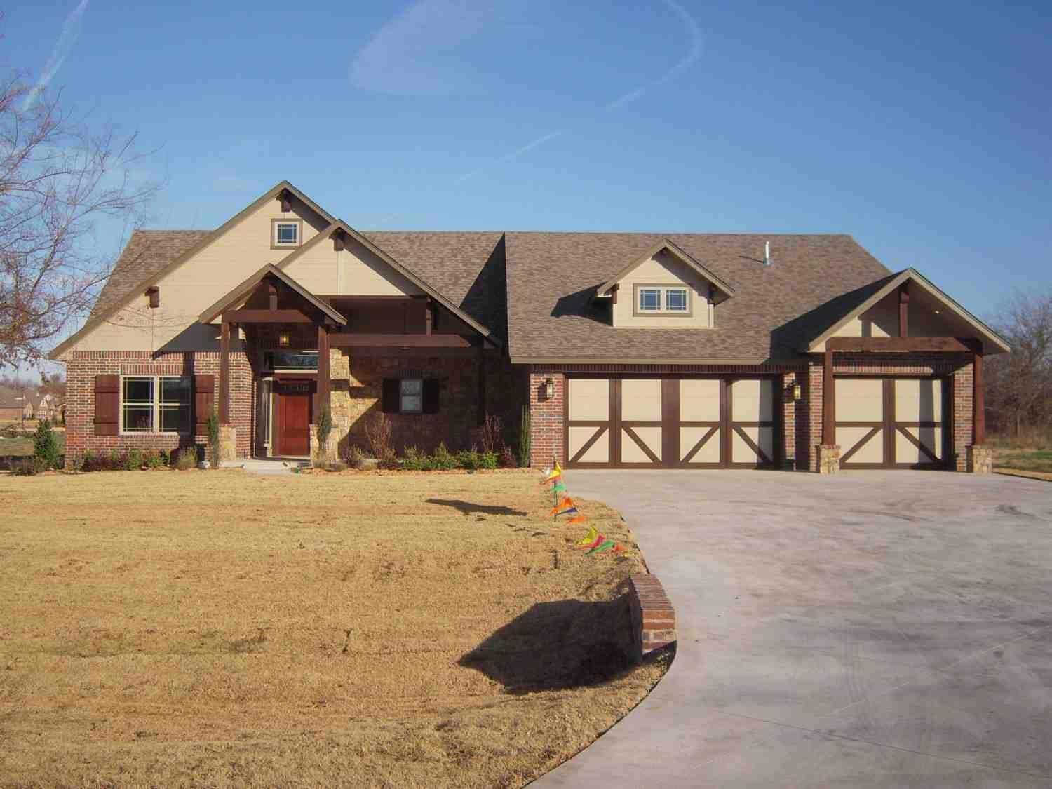 Exterior featured in the Breckenridge II Up Exp By Concept Builders, Inc in Tulsa, OK