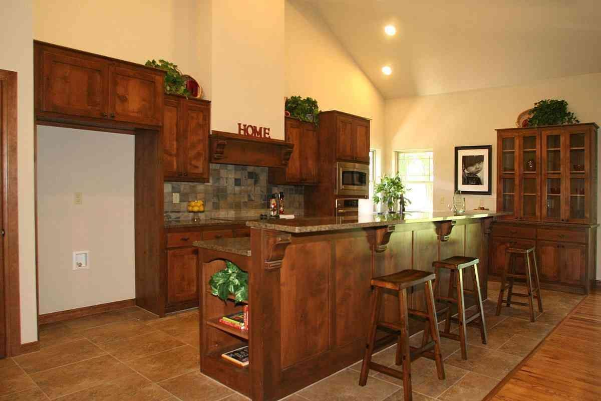 Kitchen featured in the Conner By Concept Builders, Inc in Tulsa, OK