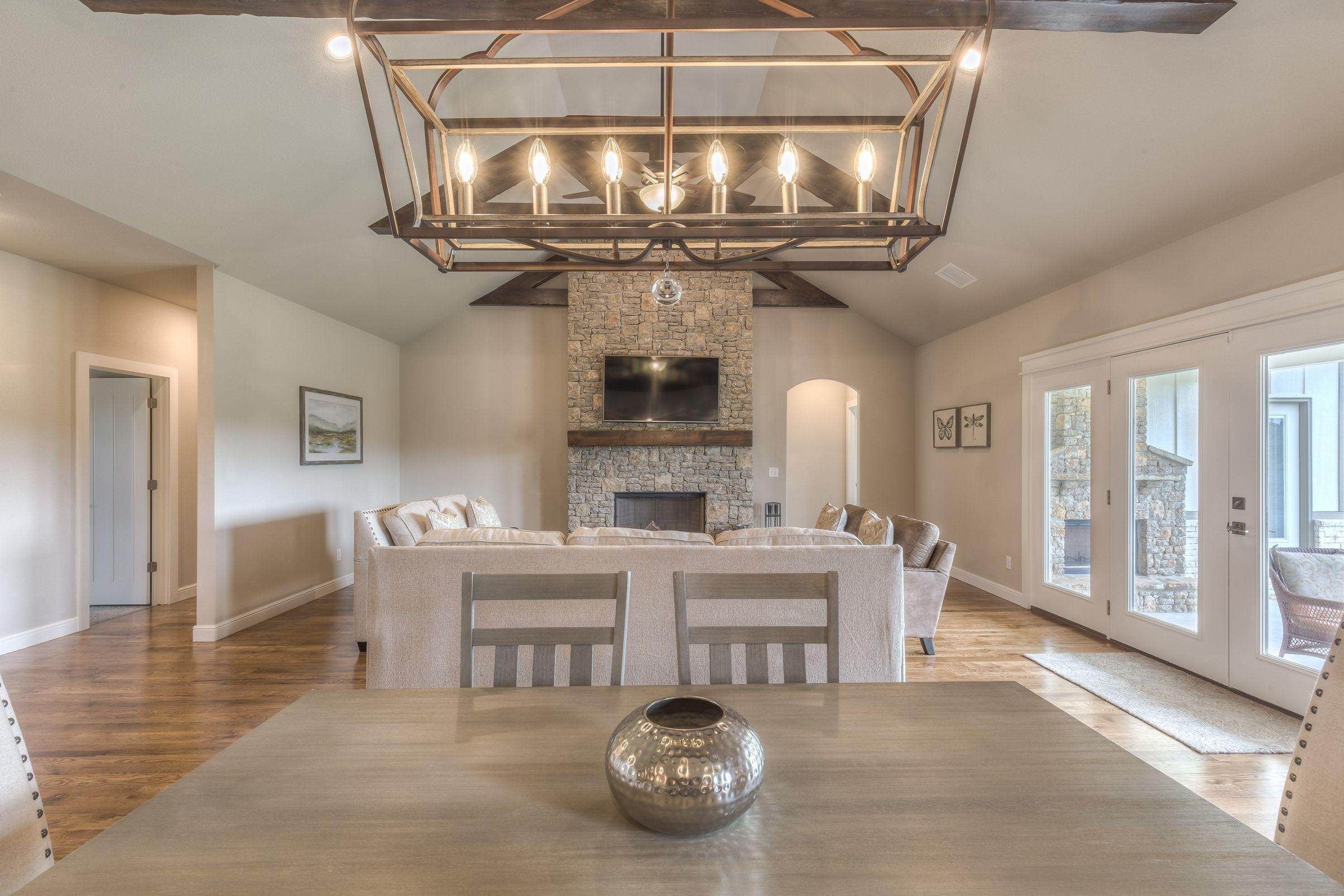 Living Area featured in the Conner II Exp By Concept Builders, Inc in Tulsa, OK