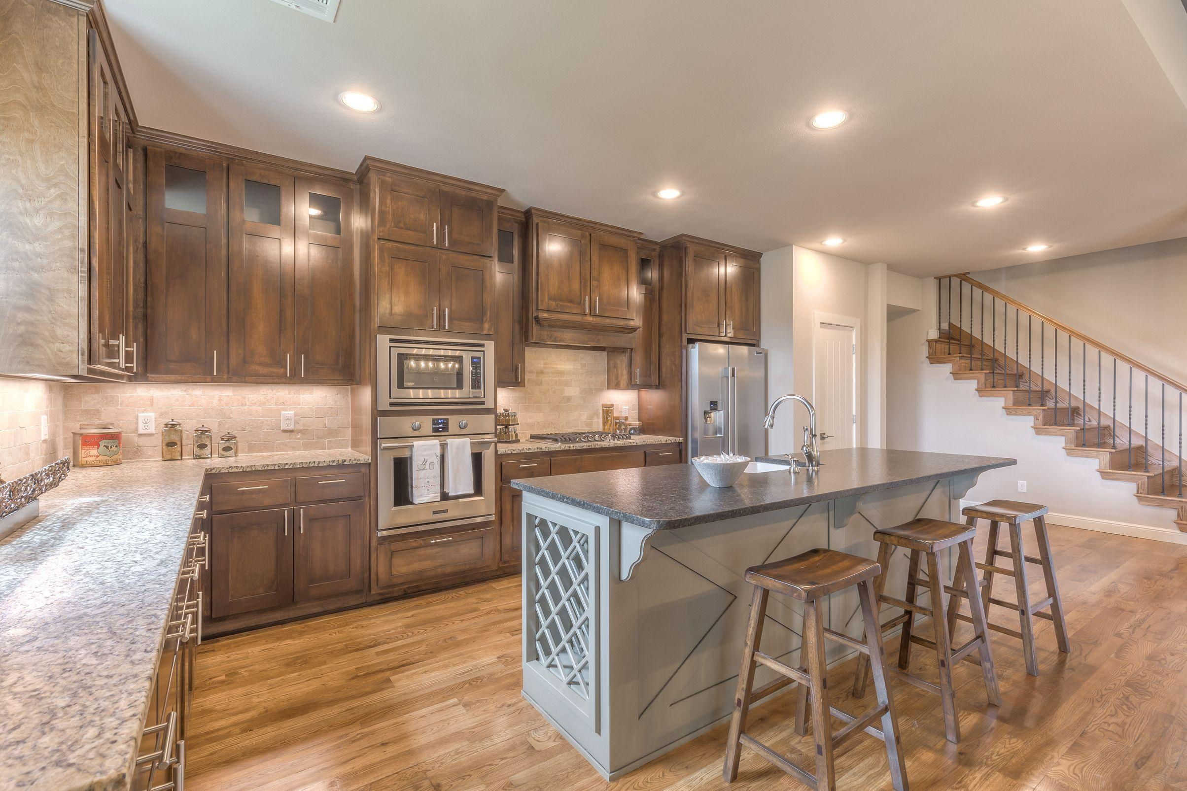 Kitchen featured in the Conner II Exp By Concept Builders, Inc in Tulsa, OK