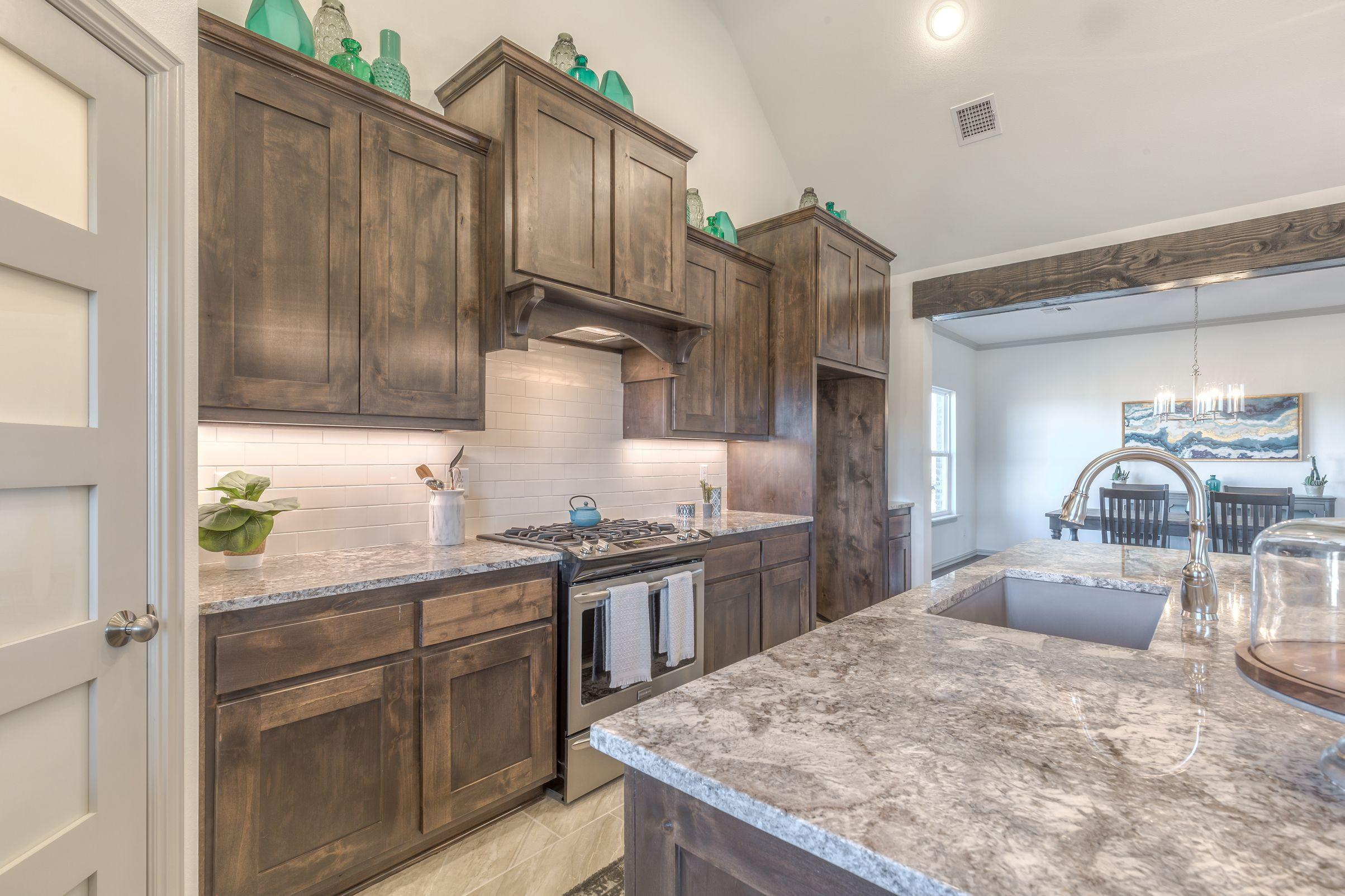 Kitchen featured in the Country Ridge By Concept Builders, Inc in Tulsa, OK