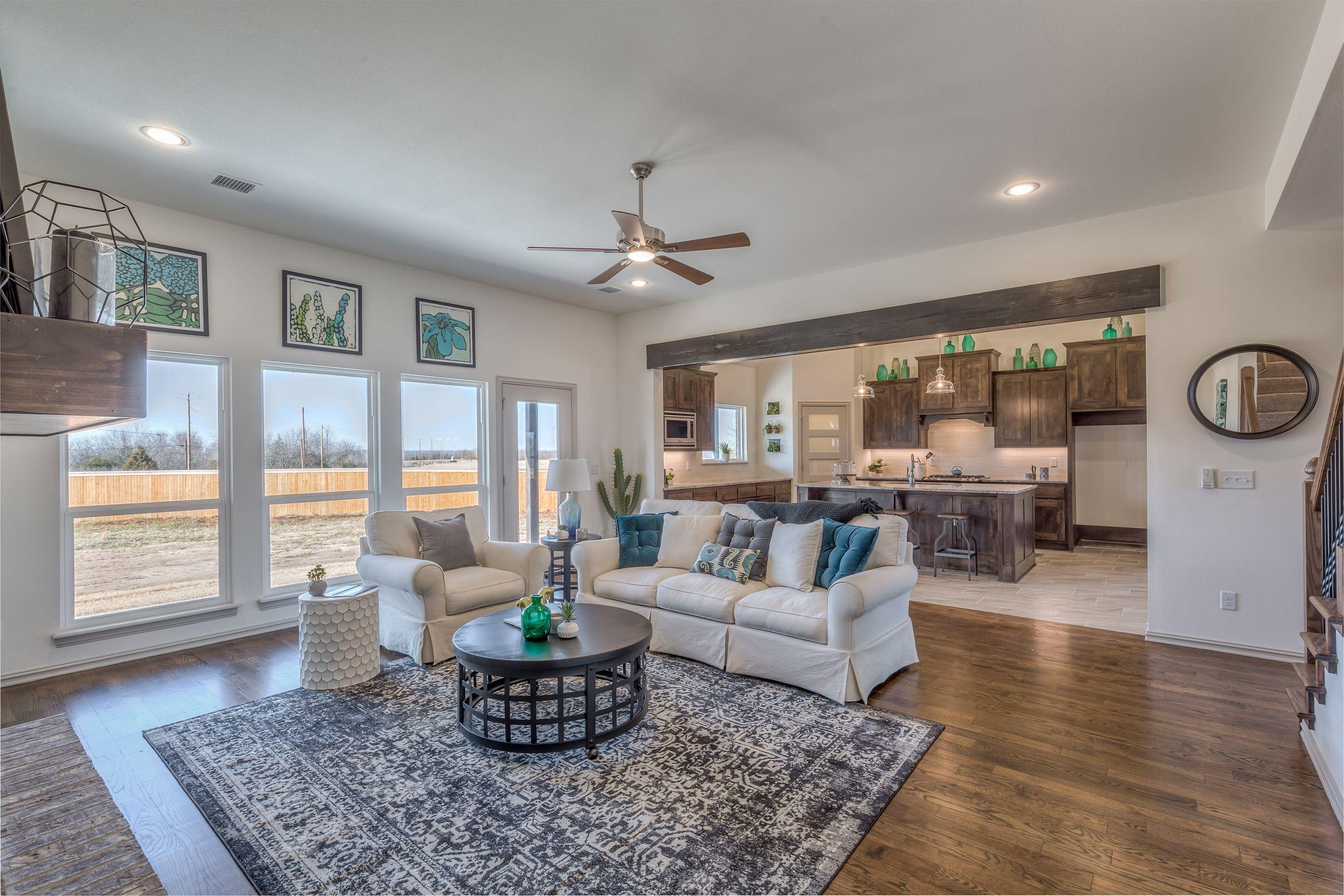 Living Area featured in the Country Ridge By Concept Builders, Inc in Tulsa, OK