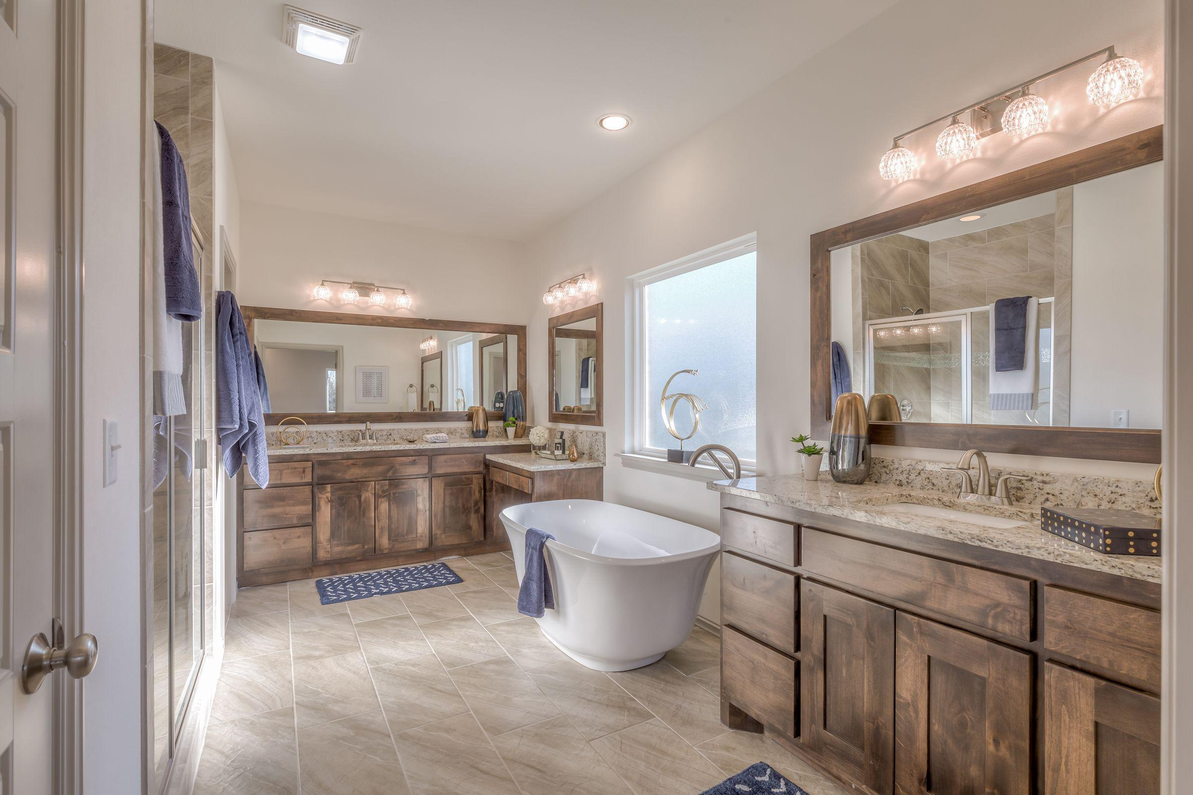 Bathroom featured in the Country Ridge By Concept Builders, Inc in Tulsa, OK