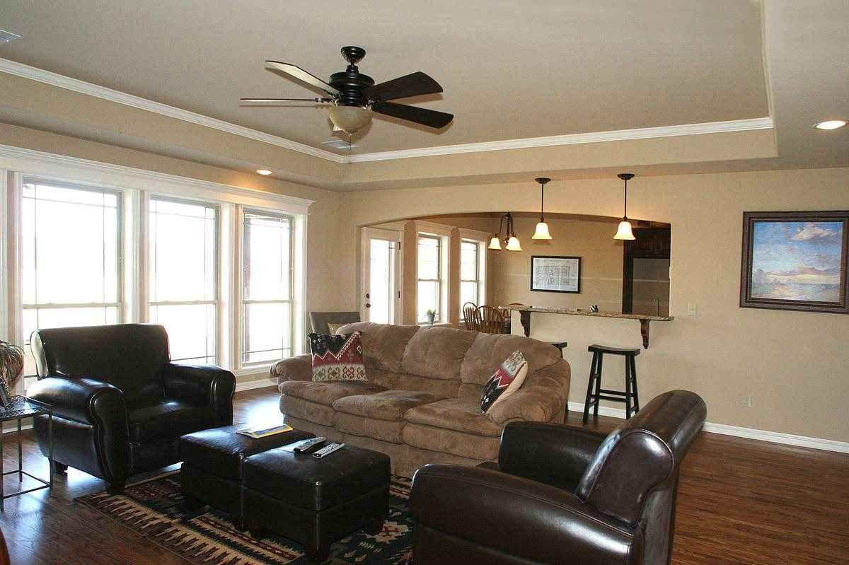 Living Area featured in the Creekshire Country By Concept Builders, Inc in Tulsa, OK