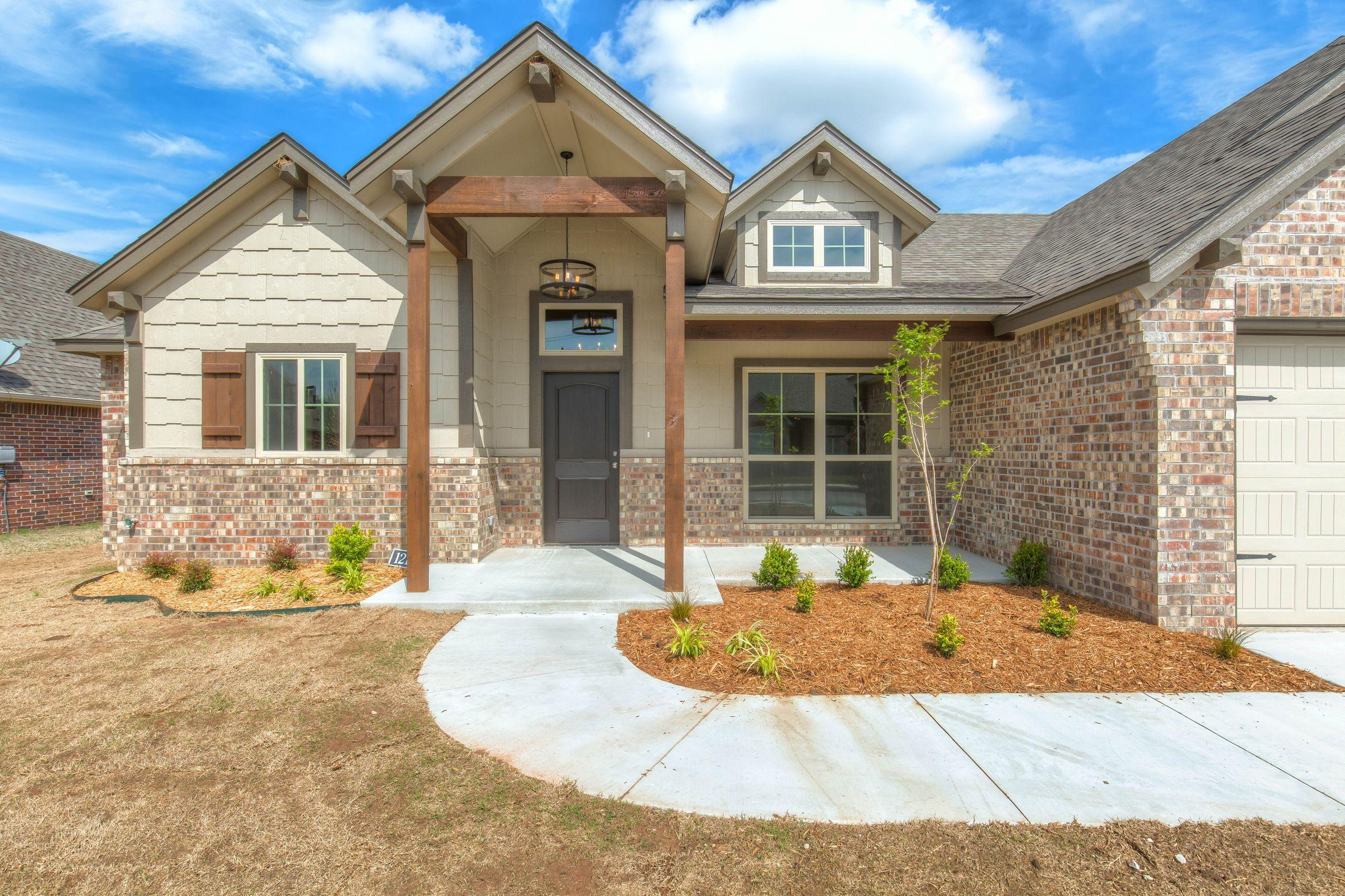 Exterior featured in the Izzy II By Concept Builders, Inc in Tulsa, OK