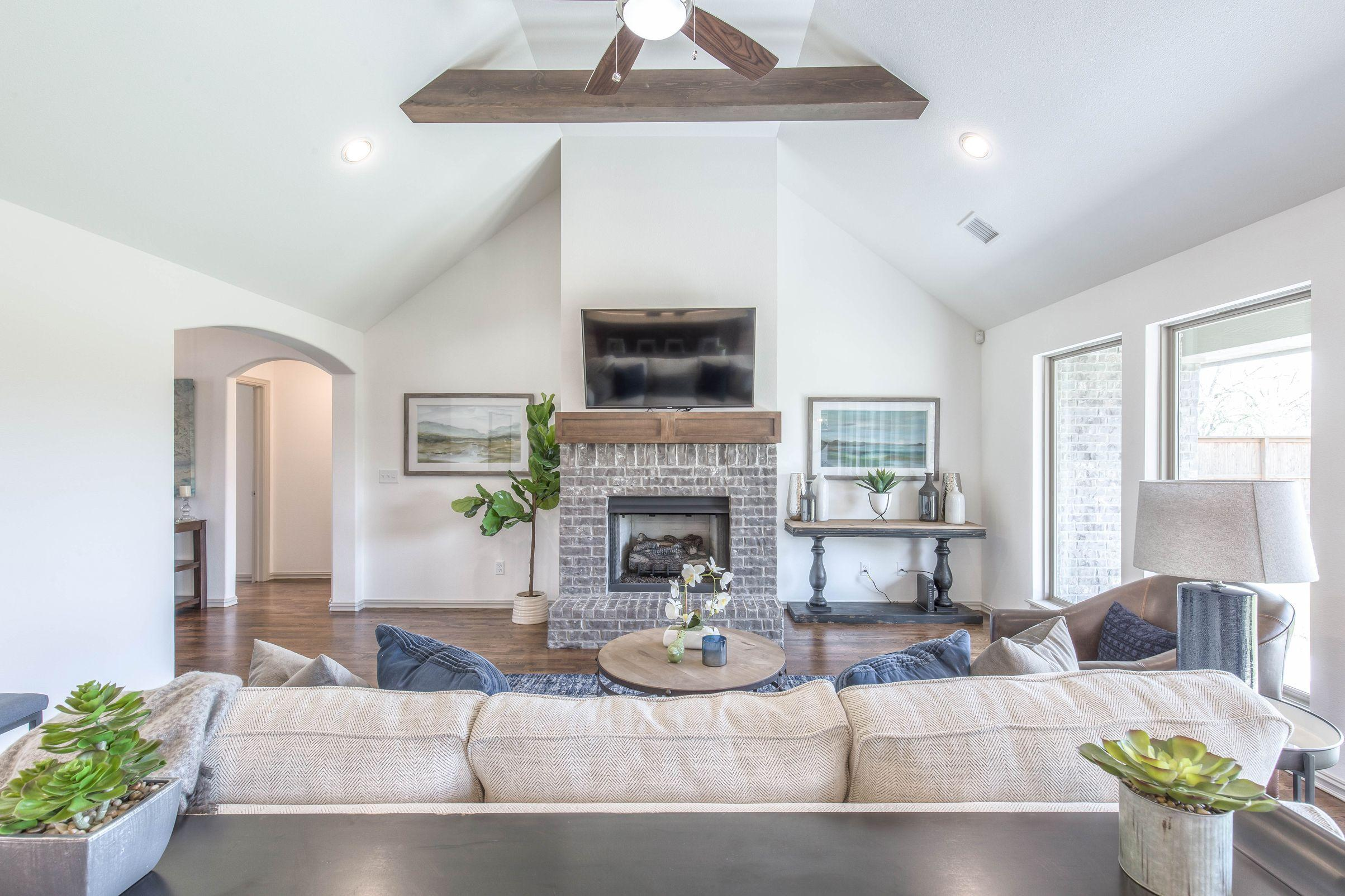 Living Area featured in the Izzy II Up By Concept Builders, Inc in Tulsa, OK