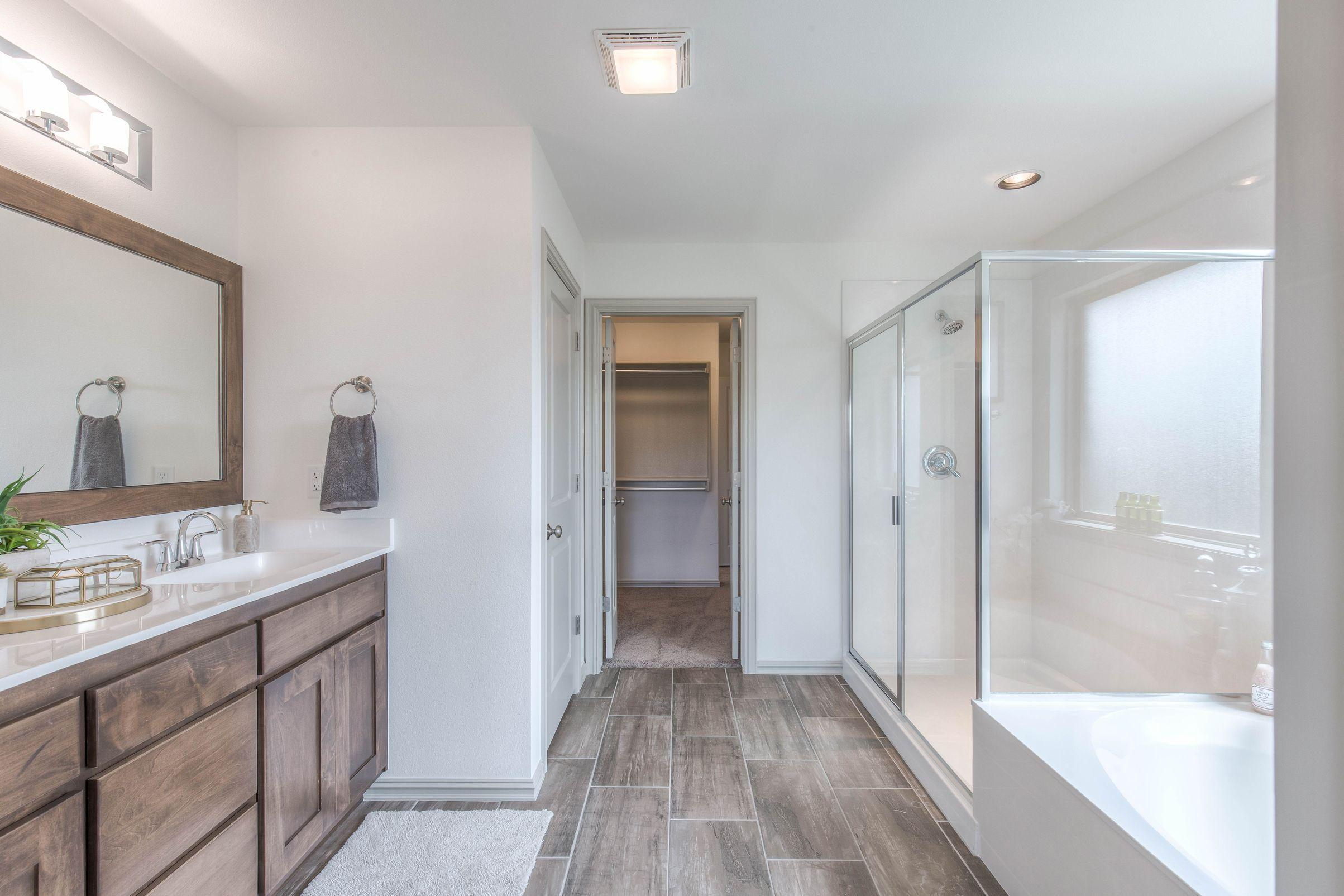 Bathroom featured in the Izzy II Up By Concept Builders, Inc in Tulsa, OK