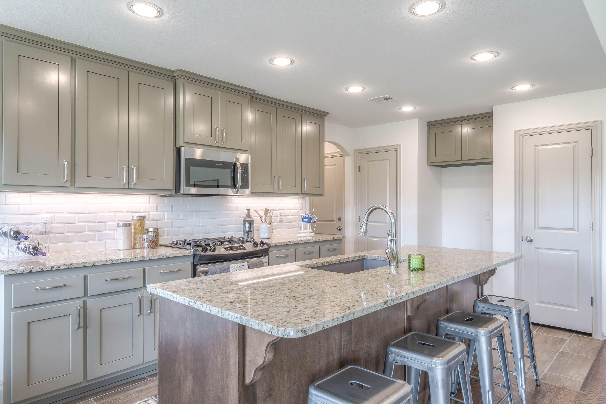 Kitchen featured in the Izzy II Up By Concept Builders, Inc in Tulsa, OK