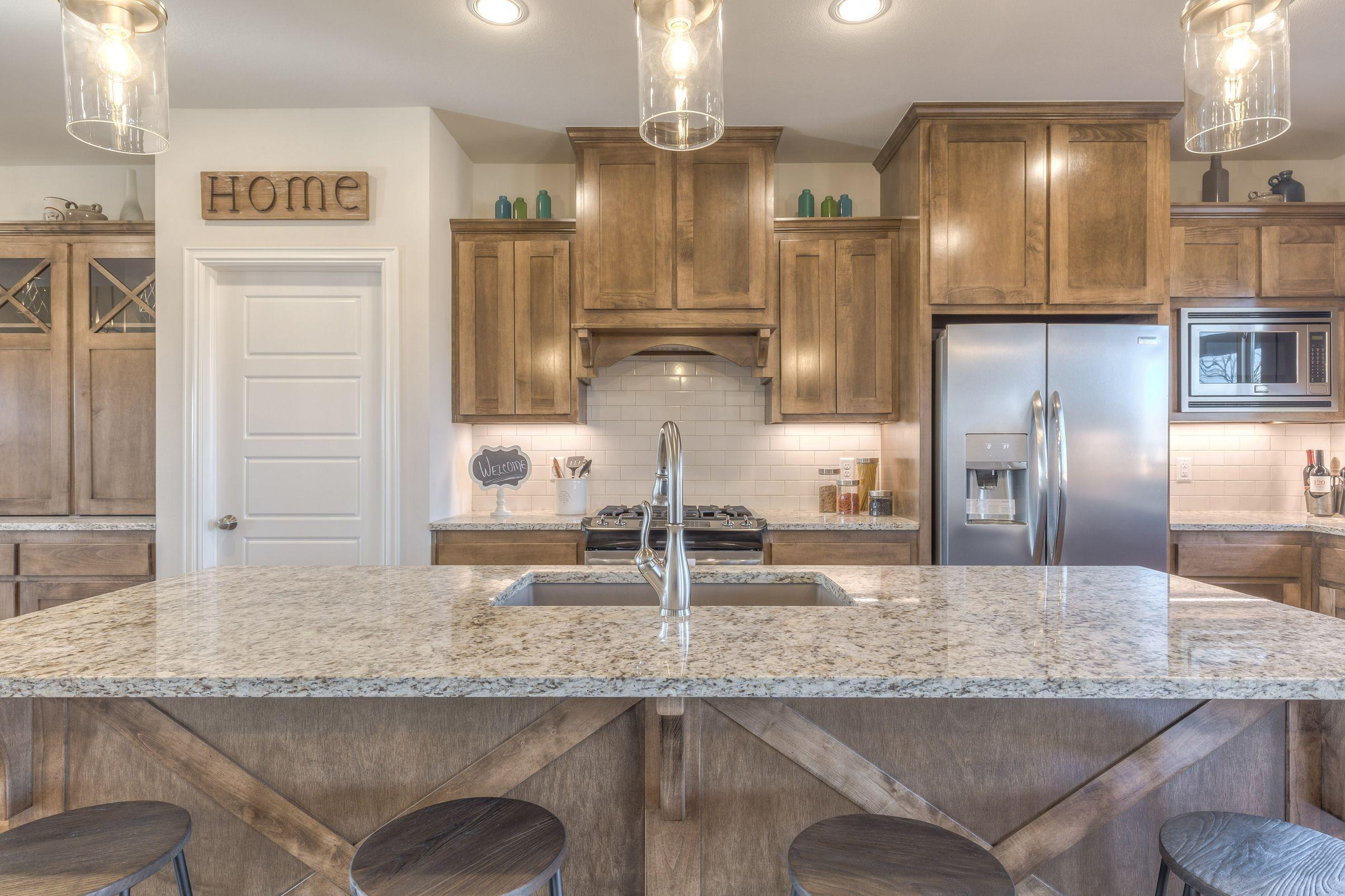 Kitchen featured in the Martine III By Concept Builders, Inc in Tulsa, OK