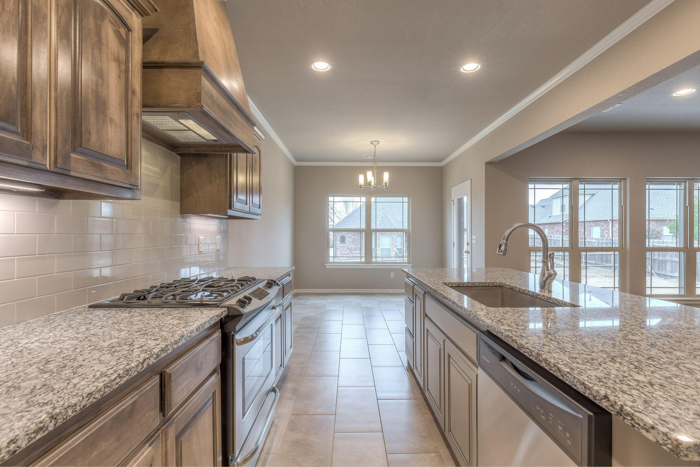 Kitchen featured in the Morgan By Concept Builders, Inc in Tulsa, OK