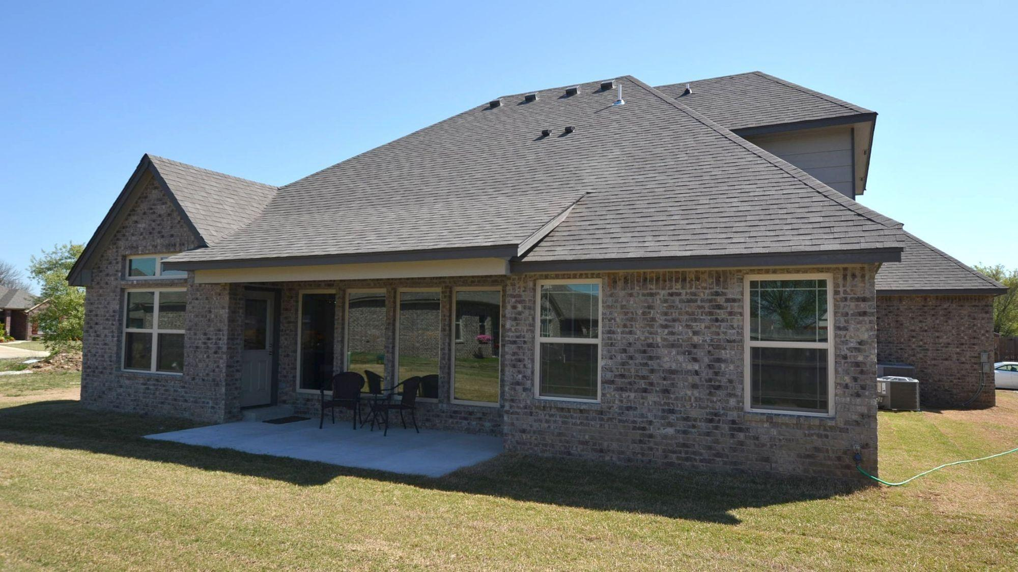 Exterior featured in the Walker 3C By Concept Builders, Inc in Tulsa, OK