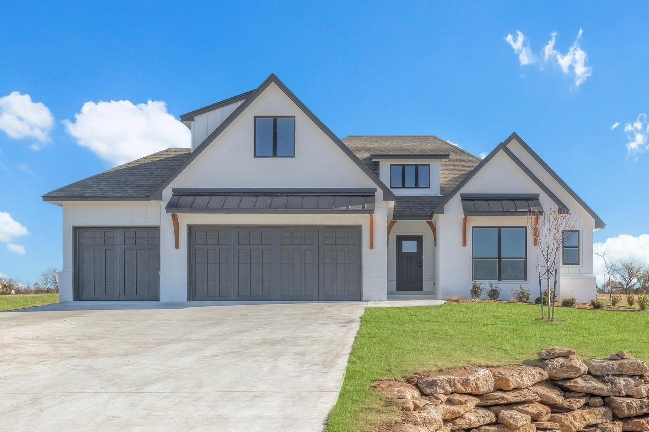 Exterior featured in the Walker FH By Concept Builders, Inc in Tulsa, OK