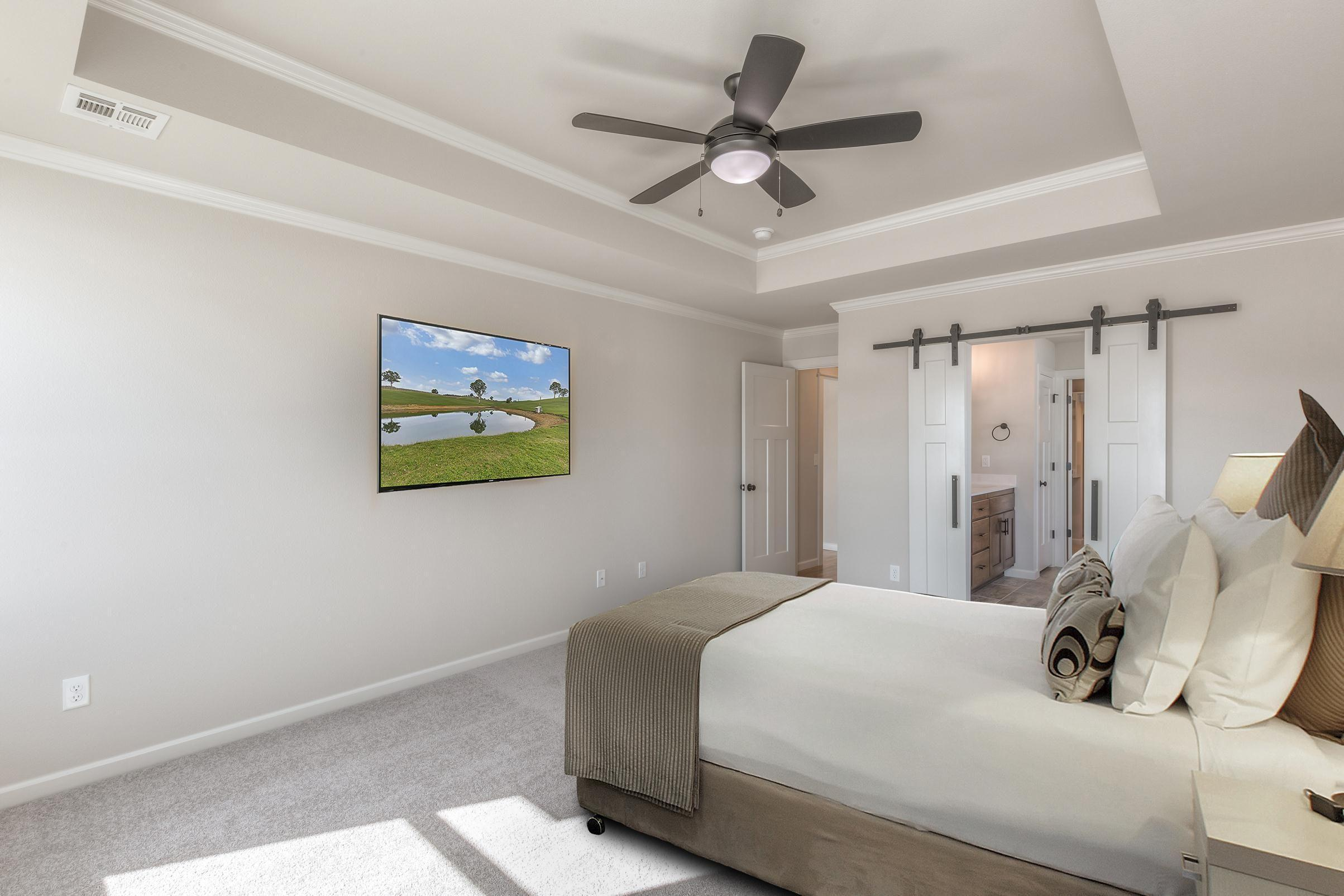 Bedroom featured in the Walker FH By Concept Builders, Inc in Tulsa, OK